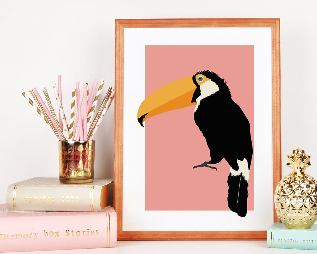 Toucan Wall Art Print