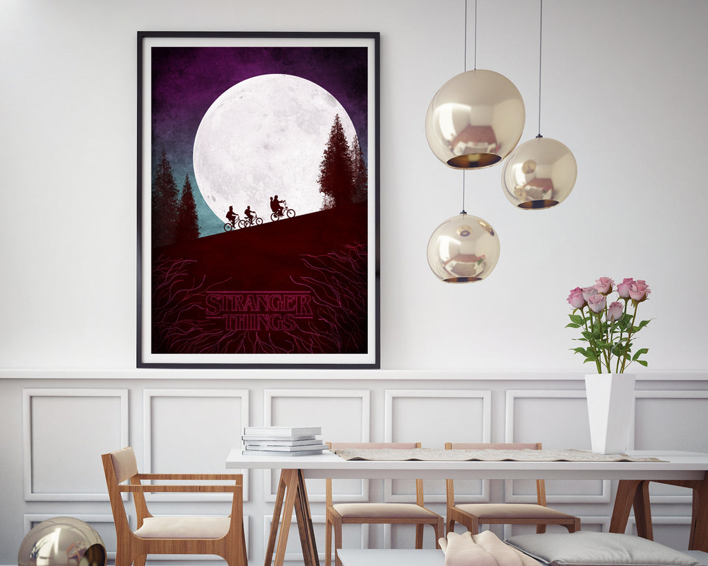 Stranger Things Bike Ride TV Show Poster