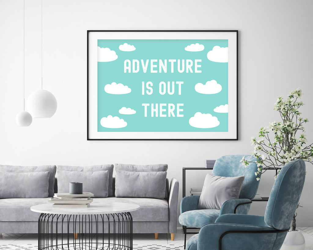 Disney's Up Adventure is Out There Film Movie Poster