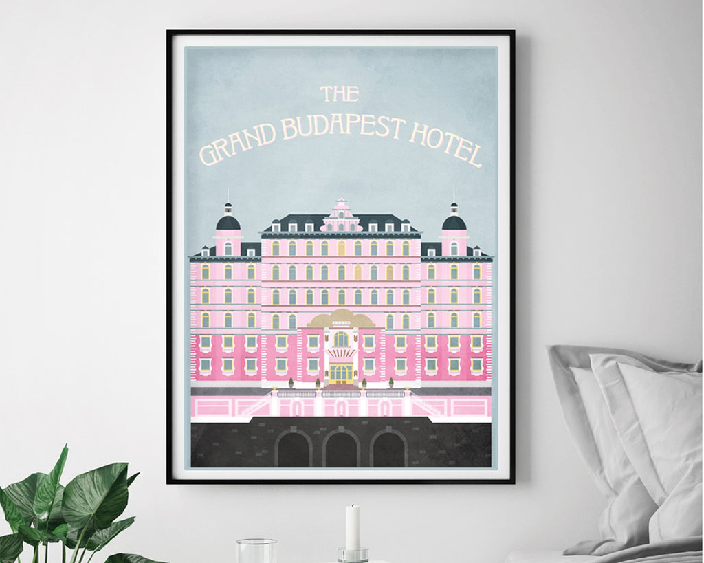 The Grand Budapest Hotel Wes Anderson Film Movie Poster
