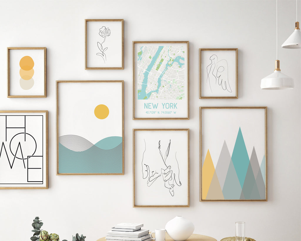 Adventure Gallery Wall Bundle Set of 8 Prints