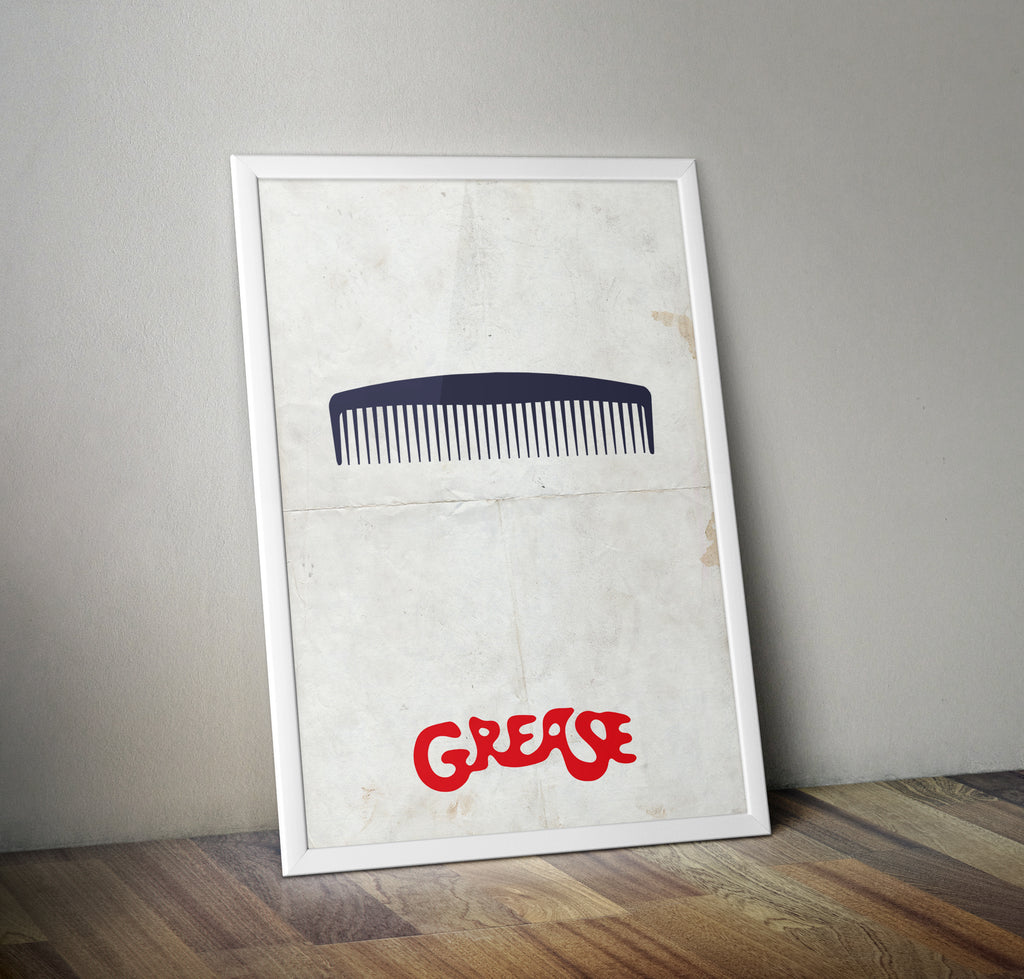 Grease Wall Art Film Movie Poster