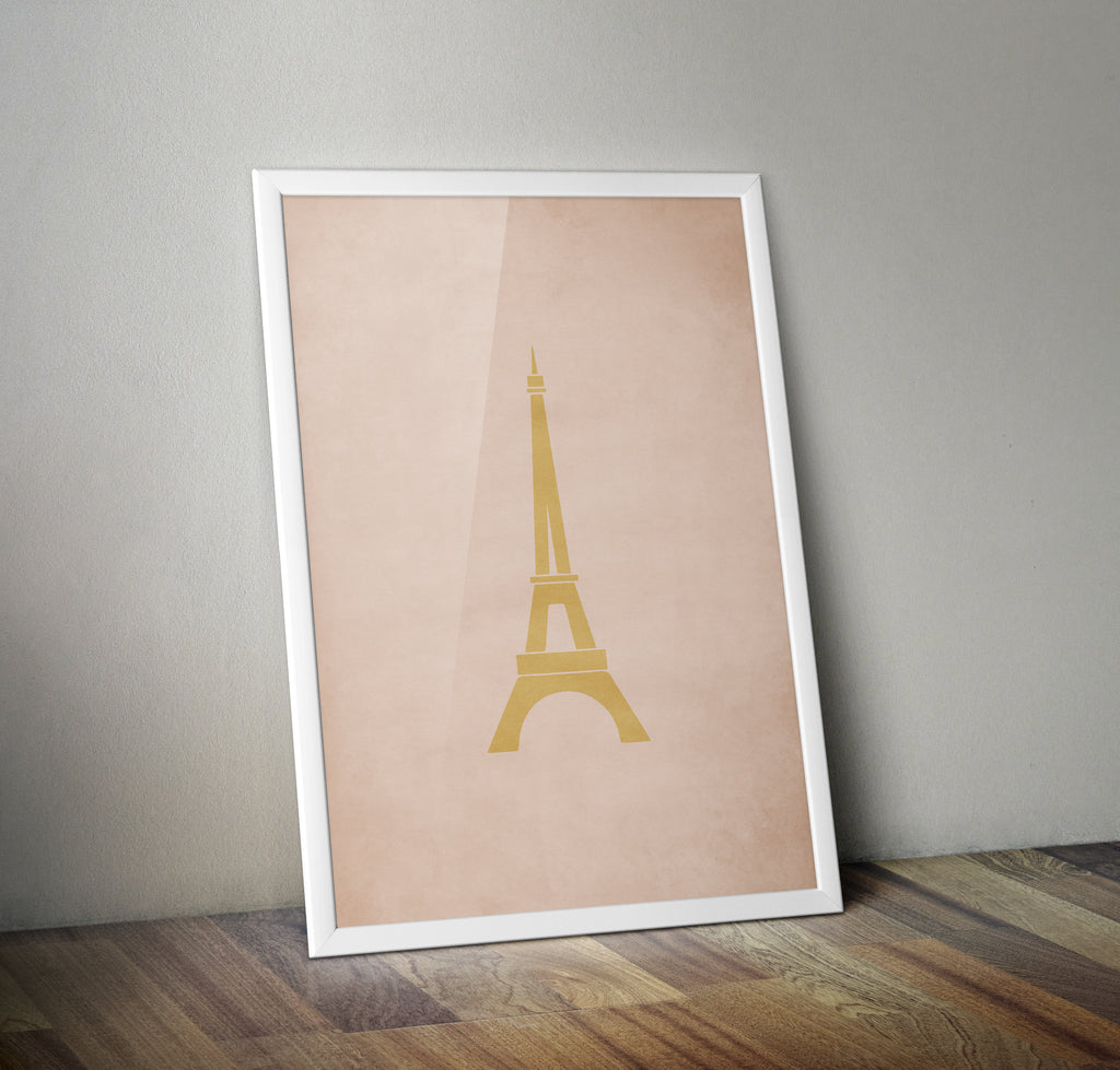 Hotel Chevalier Eiffel Tower Alternative Minimal Movie Poster