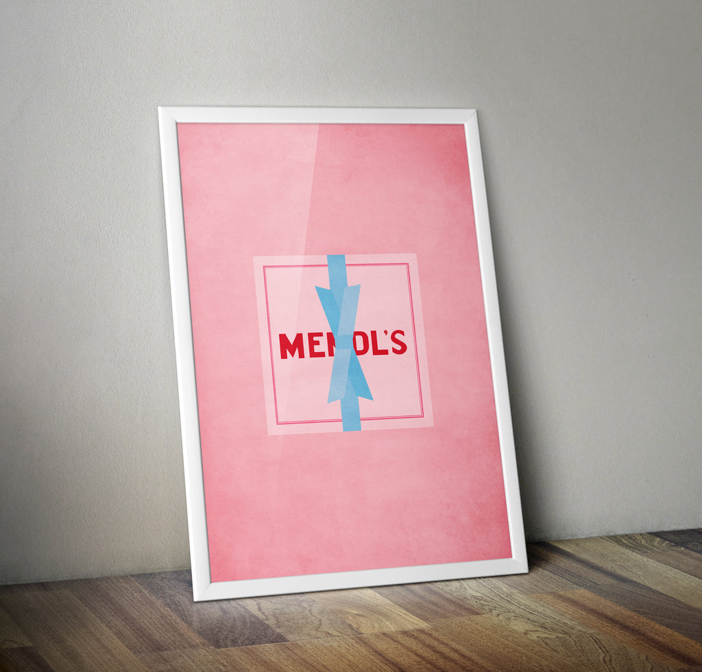 The Grand Budapest Hotel Mendl's Box Wes Anderson Film Movie Poster