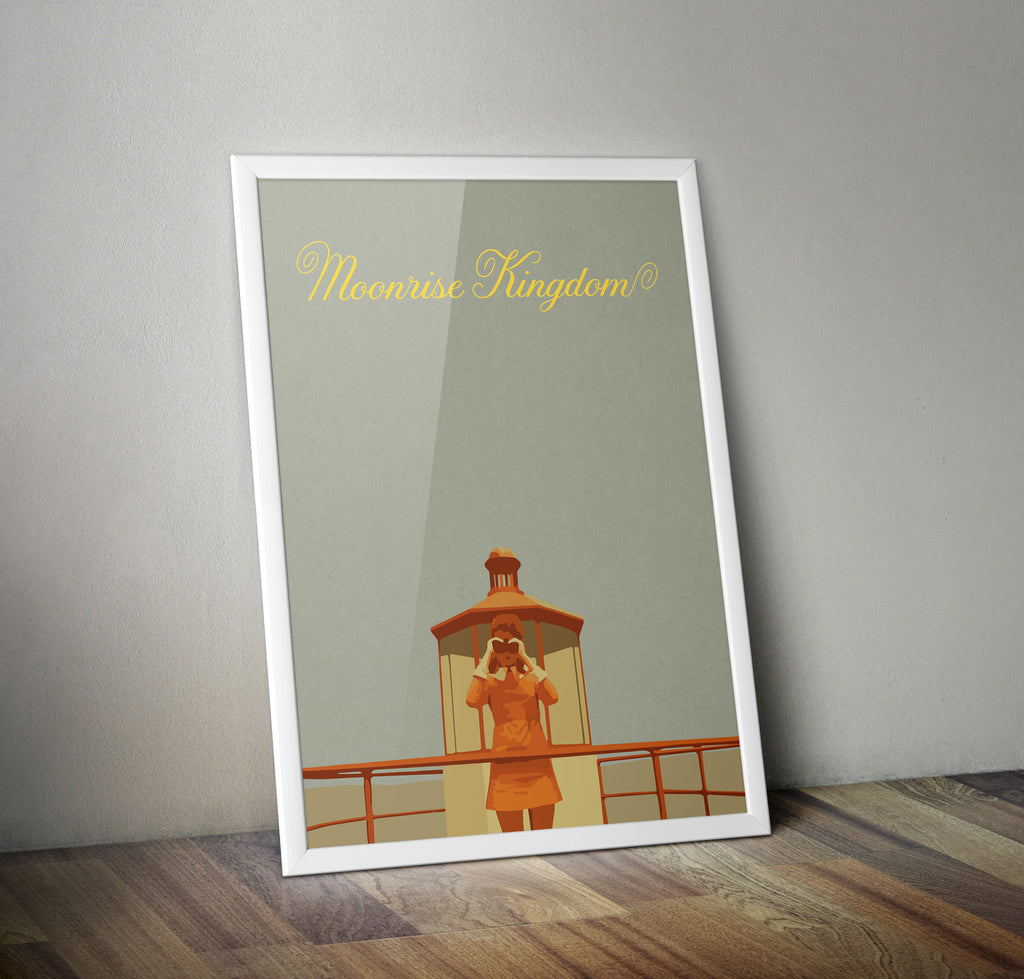 Moonrise Kingdom Alternative Minimal Movie Poster
