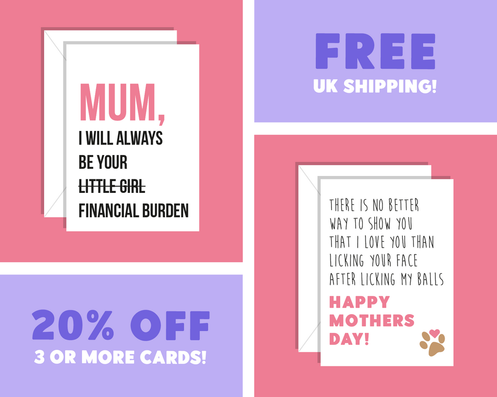 Happy Mother's Day From Your (Biggest Regret) Favorite Child! Mother's Day Card