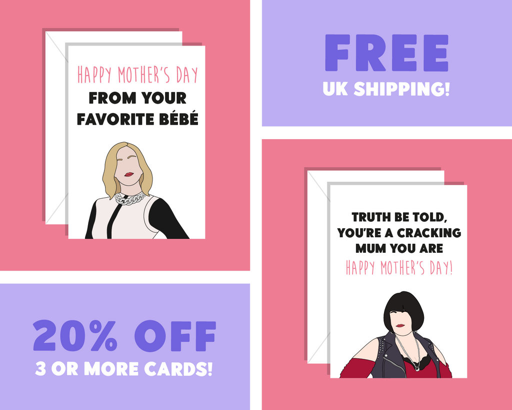 You're Not Just A Regular Mum, You're A Cool Mum, Mean Girls Mother's Day Card