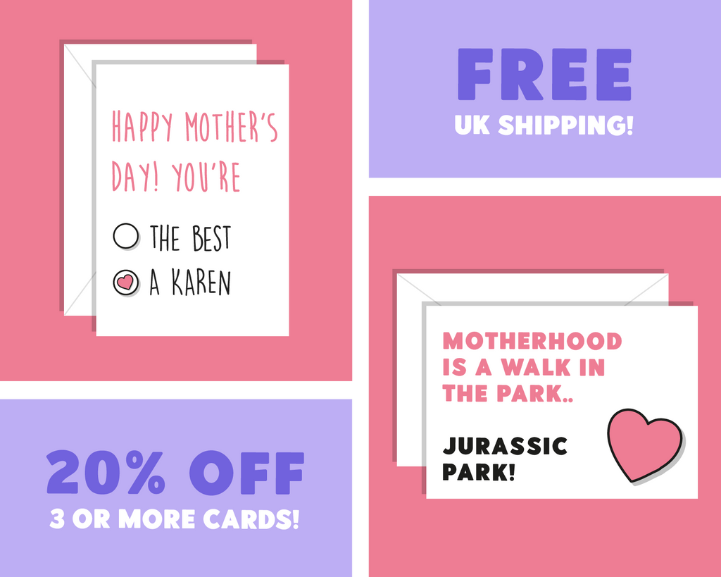 Motherhood Is A Walk In The Park... Jurassic Park! Happy Mother's Day Card