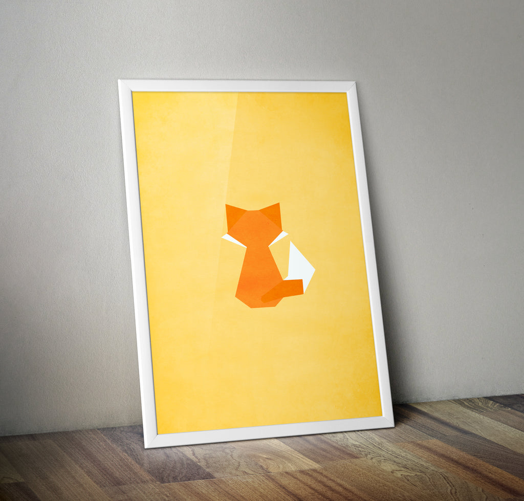Fantastic Mr Fox Alternative Minimal Movie Poster