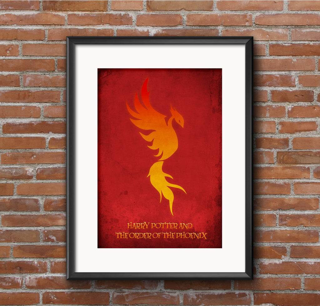 Harry Potter and The Order of the Phoenix Alternative Minimal Movie Poster