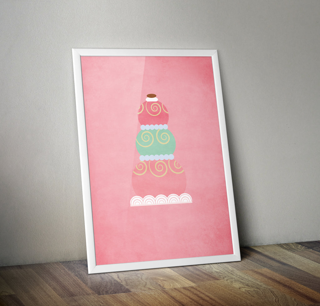 The Grand Budapest Hotel Mendl's Pudding Alternative Minimal Movie Poster