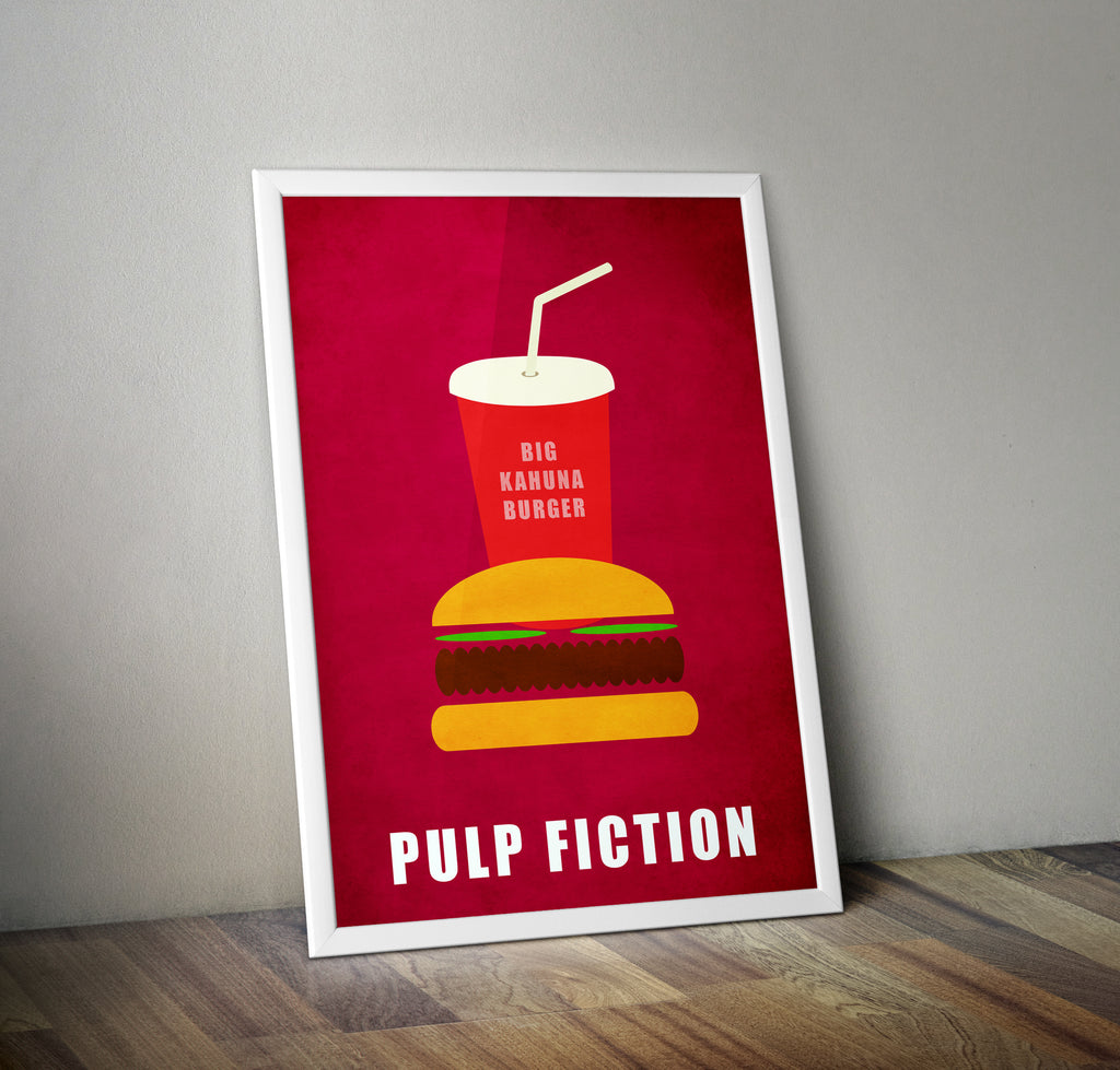Pulp Fiction Film Movie Poster