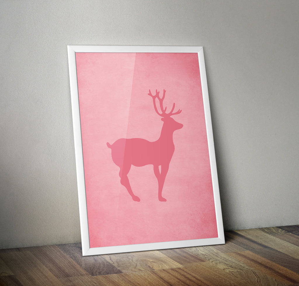The Grand Budapest Hotel Stag Alternative Minimal Movie Poster