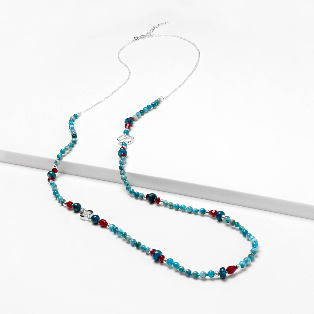 Apatite Long Necklace Argo (small)