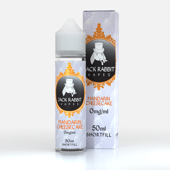 Jack Rabbit- MANDARIN CHEESECAKE E-Juice 60mls