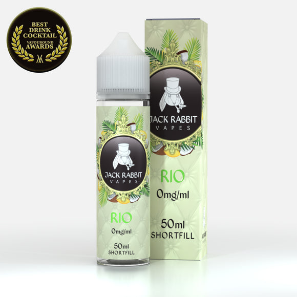 Jack Rabbit- Rio E-Juice 60mls