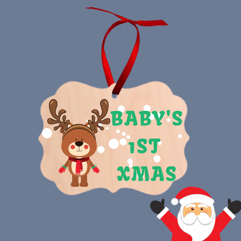 Personalised Personalised Christmas Ornaments | Fast Fox Printing