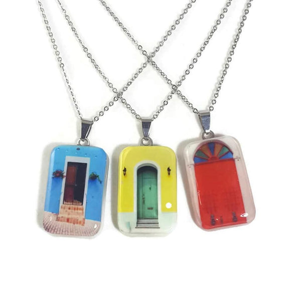 Viejo San Juan PR Door Necklace