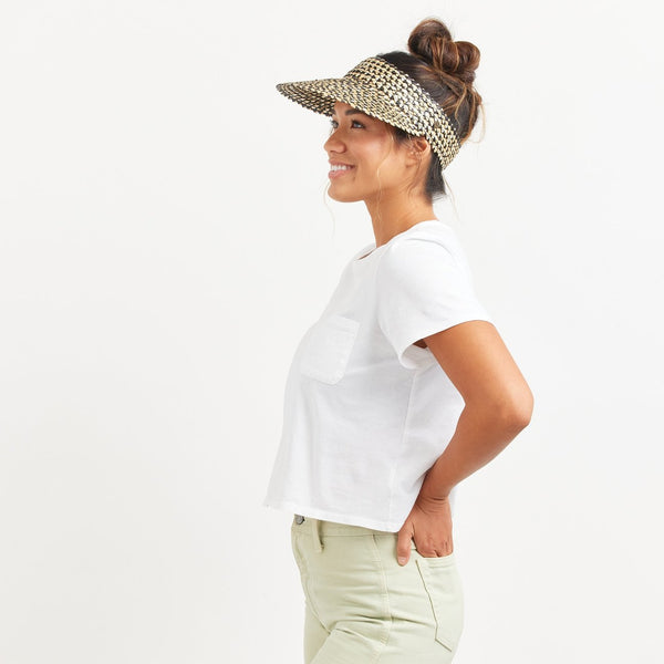 The CAPRI VISOR IN PEPPER