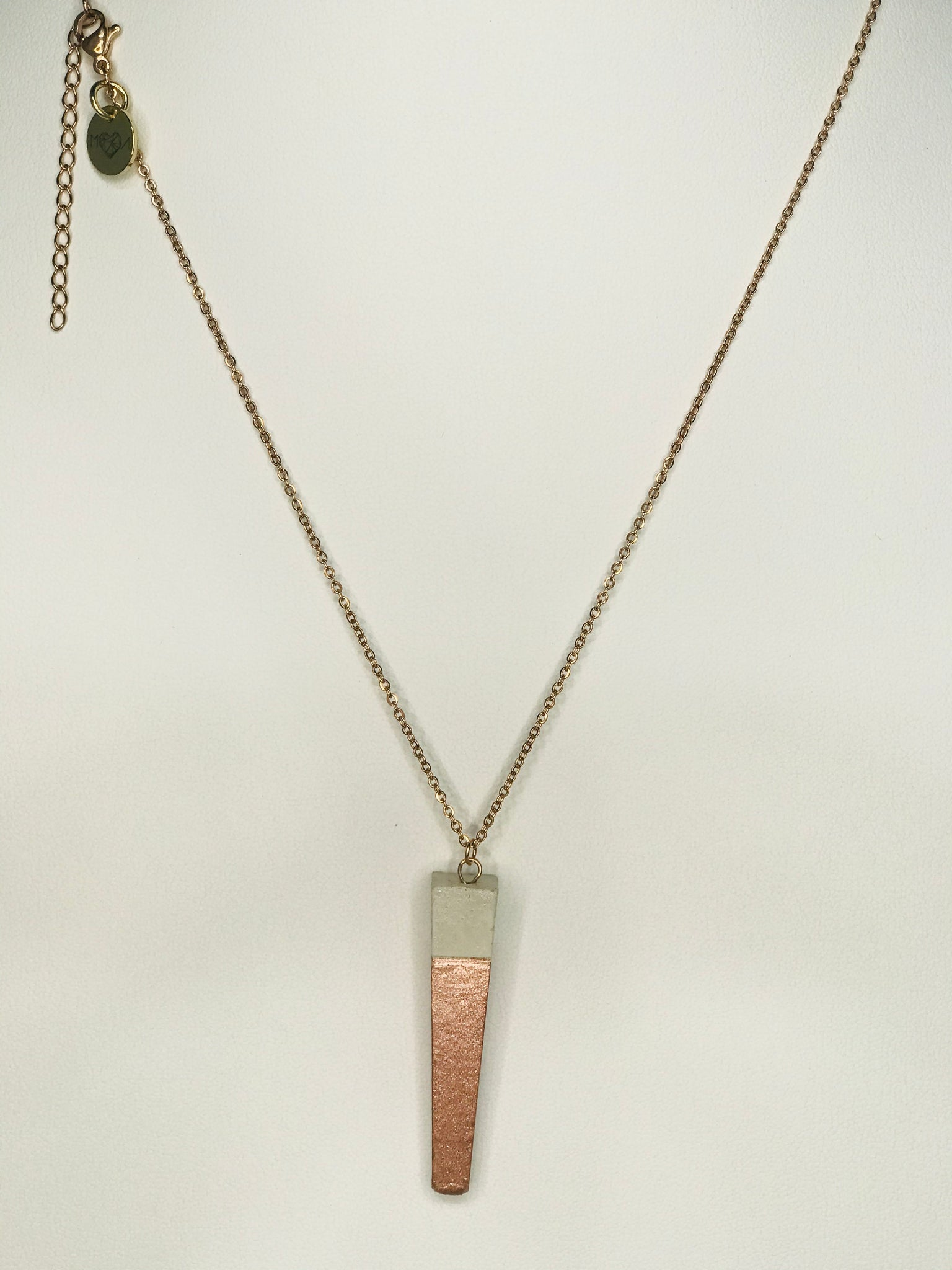 Funnel Concrete Necklace