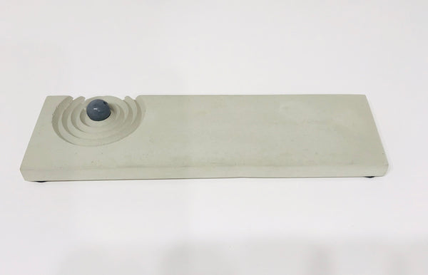 Incense Burner Concrete Tray