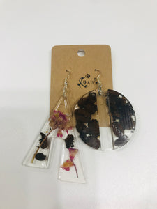 Resin Earrings 12
