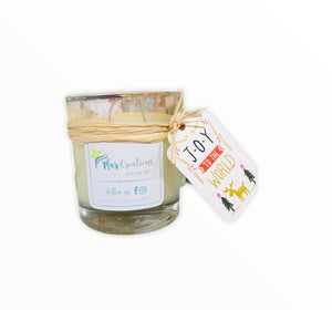 Soy Organic Candle - Aires Navideños