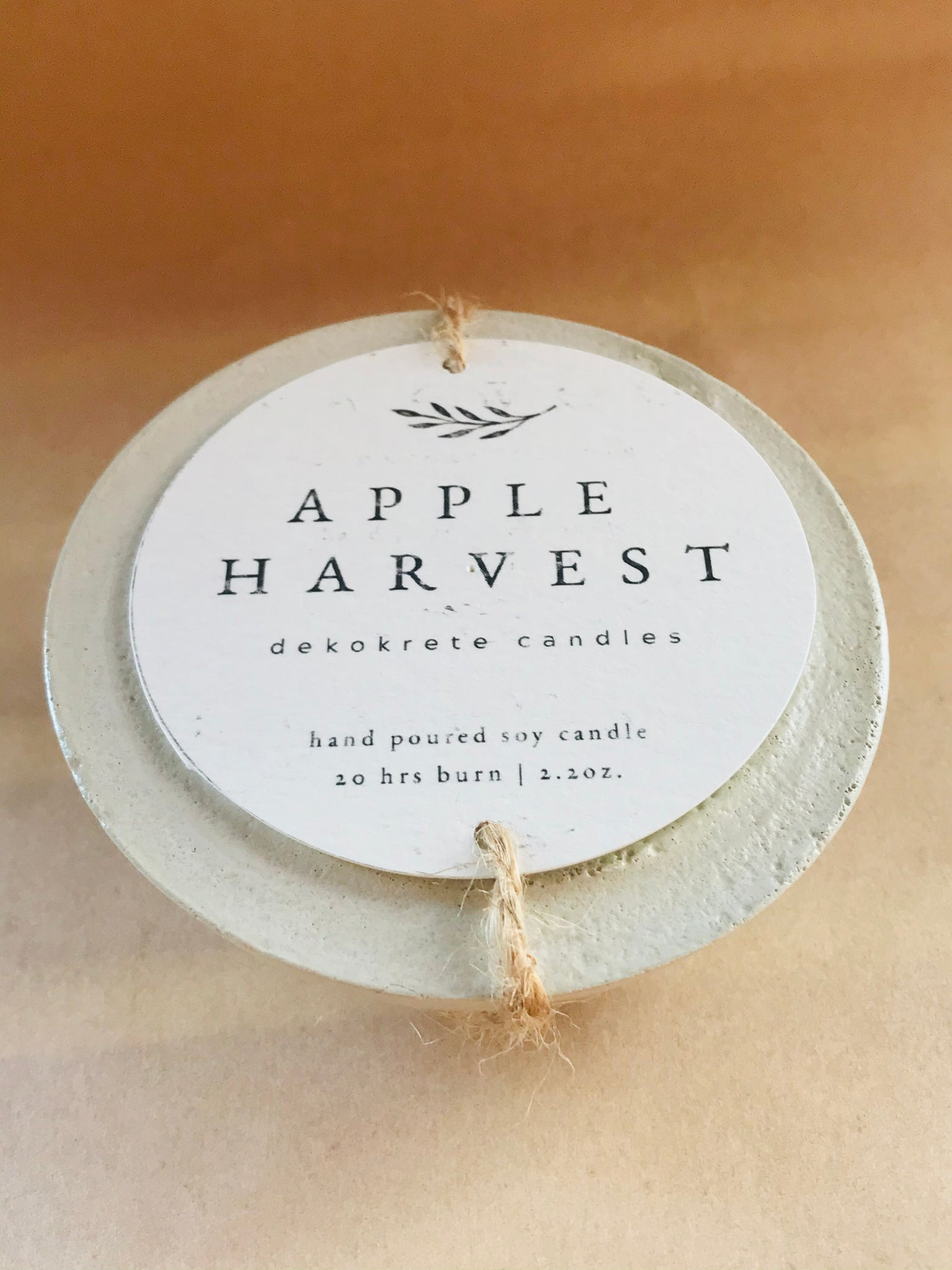Apple Harvest Soy Candle 2.2oz