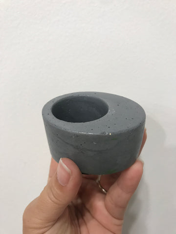Mini Tear Drop Concrete planter