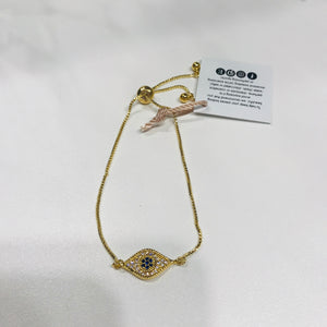 Evil Eye Connector Bracelet