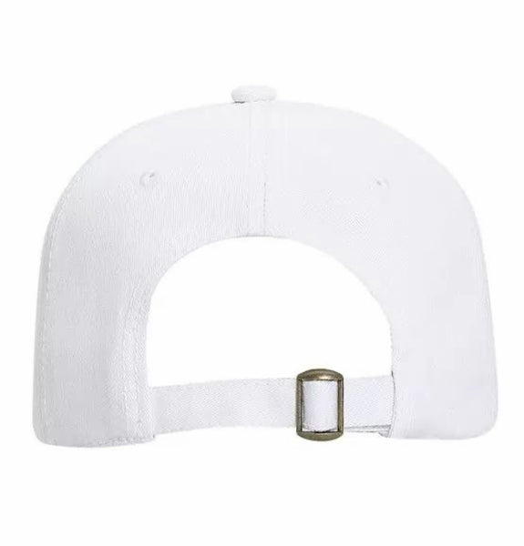 Dad Cap White