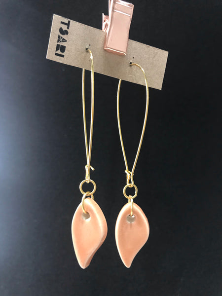 Porcelain Long Earings