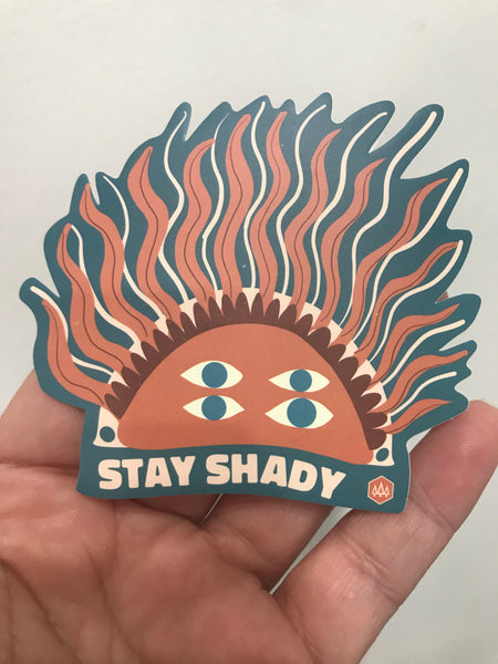 Stay Shady  JOURNEY STICKER