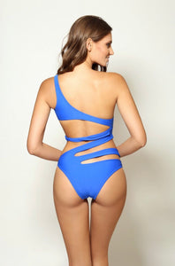 Mykonos One Piece Swimsuit Blue