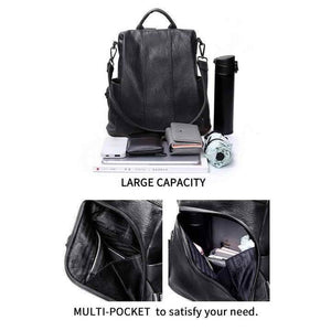 Anti-Theft Backpack-Shoulder Bag with Extra Large Capacity (Limited Edition)