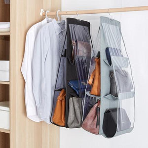【BUY 3 Get 1】Foldable Backpack Storage Bags Supplies 6 Pockets Closet Rack