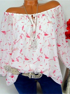 Printed Collar Shirt