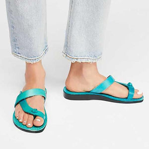 PU slippers casual flip flops shoes