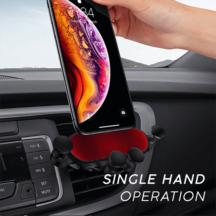 Universal Auto-Grip Car Phone Mount---Magical Car Ice Scraper Free Gift!