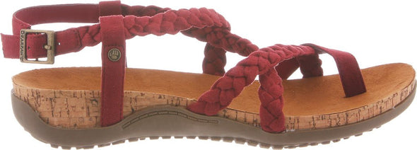 BEARPAW Women's Cecilia Toe Loop Sandal