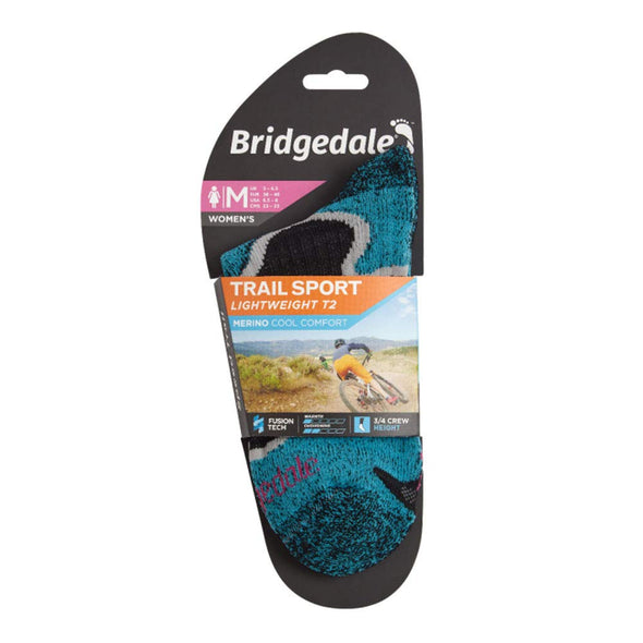 Bridgedale Coolmax Lightweight T2 Trail Sport - Cool Comfort Socks
