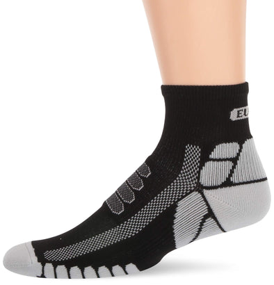 Eurosocks Running Socks, Cross Quarter Comfort with Stay Up Cup, Snug Fit, Prevents Tired Aching Feet - EU203