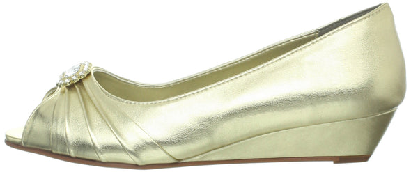 Dyeables Women's Anette Low-Heel Wedge