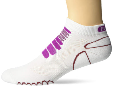 Eurosock, Running Socks, Second Skin Feel, Relieves Hot Spots & Foot Stress, Provides Comfort, Moisture Controlled -6309