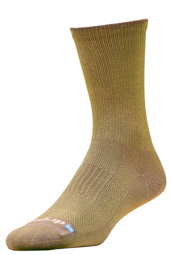 DryMax Lite Hiking Crew, Sage Green Socks (W 10-12 / M 8.5-10.5, Sage Green - 1 Pair)