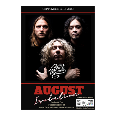 August Isolation Poster [Autographed - 1/100]