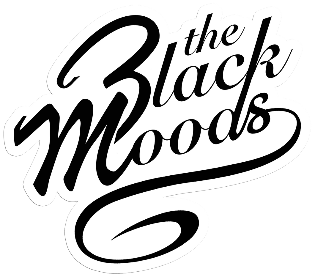 The Black Moods Logo Sticker