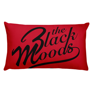 Red Moods Pillow