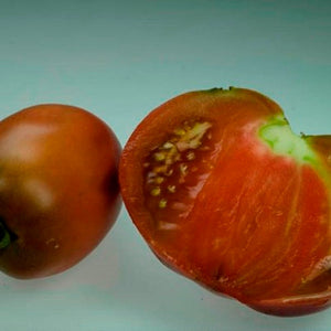 Organic Purple Russian Tomato Seeds-20 Seeds. Amazing heirloom tomato! Great color, firm flesh, simple to grow. Great container tomato