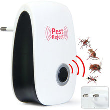 Load image into Gallery viewer, Mosquito Killer Electronic Ultrasonic Mosquito Repeller Indoor Pest Control Bug Mosquito Cockroach Mouse Killer EU US AU plug